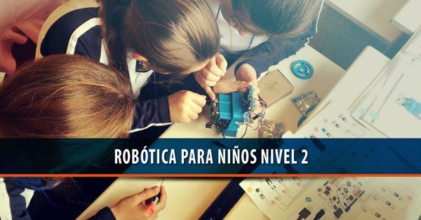 Robótica para niños Nivel 2