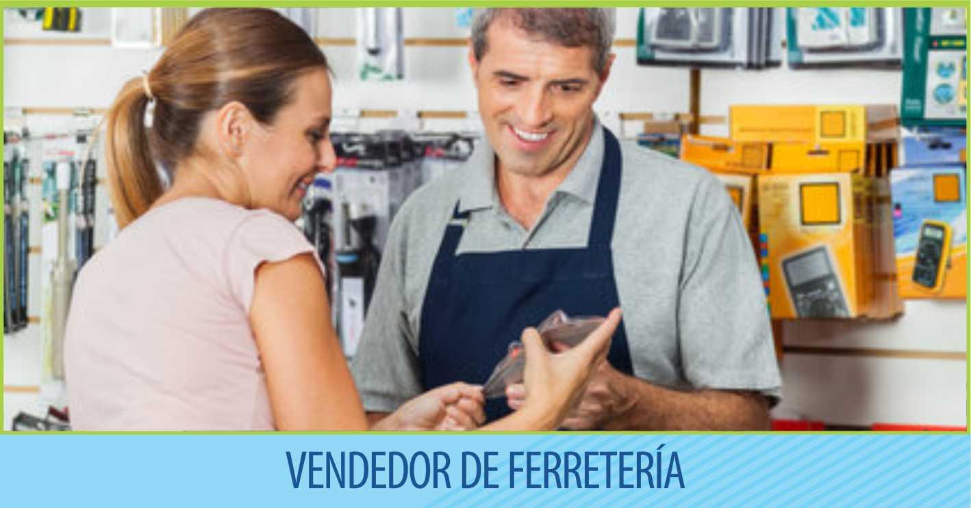 Vendedor de Ferretería – Con el apoyo de Ca.Fa.Mar.